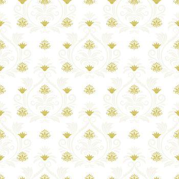 Ornamental lace floral endless texture