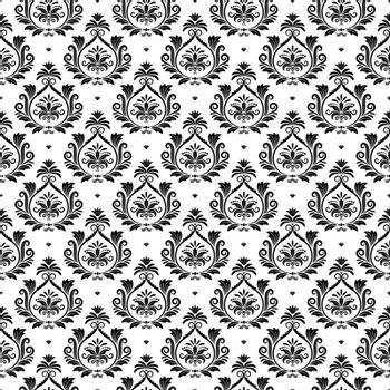 Oriental vector arabesque texture