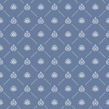 Ornamental royal wedding seamless background