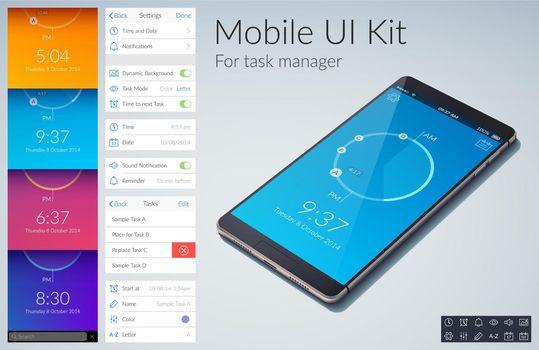 Mobile UI Kit
