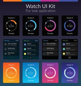 Watch UI Kit