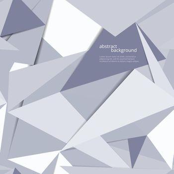 Origami geometric background