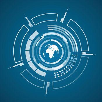 Modern Virtual Technology Poster