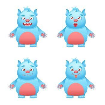 Monster Character Set