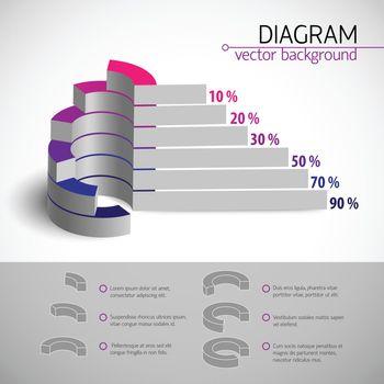 Multicolored Diagram Template
