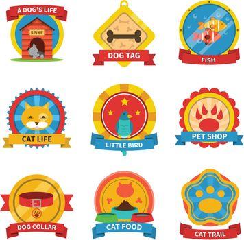 Pets Label Set