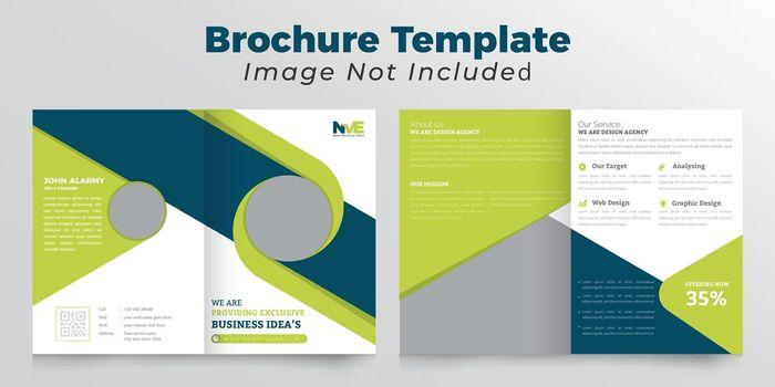 Creative bifold brochure design
