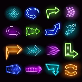 Neon Arrows Set