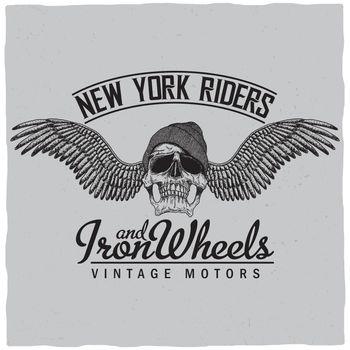 New York Riders Poster