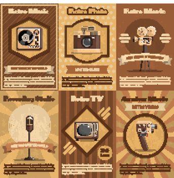 Retro Device Poster
