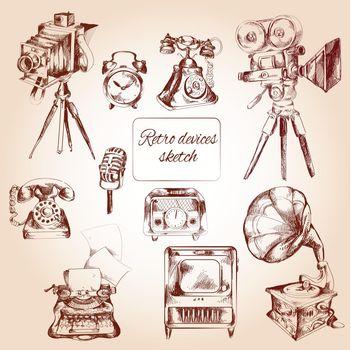 Retro Devices Sketch