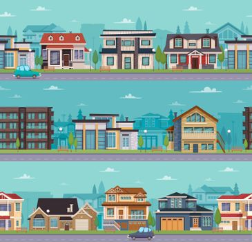 Seamless Cityscape Template