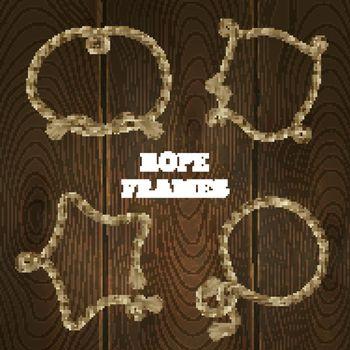 Rope Frames Set
