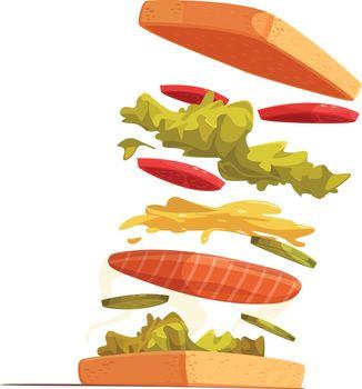 Sandwich Ingredients Composition