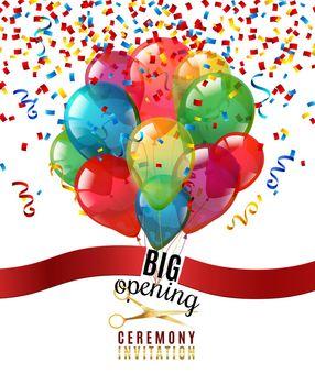 Opening Ceremony Invitation Background