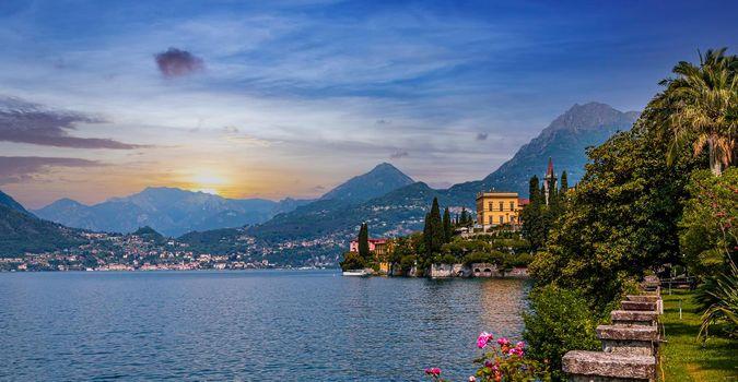 Villa Monastero, lake Como, Varenna, italy