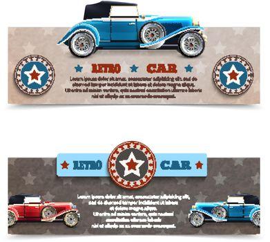 Retro Car Banners