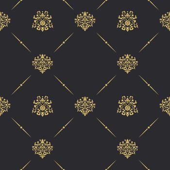 Seamless vintage pattern decor