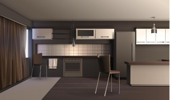Studio Apartment Kitchen Design