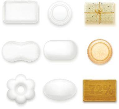Realistic Soap Bars