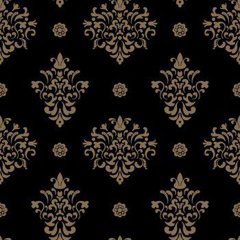 Royal seamless pattern baroque
