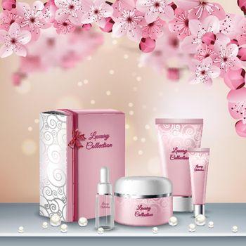 Sakura Colored Poster