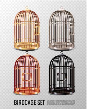 Canary Birdcage 3D Set