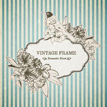 Romantic vintage card