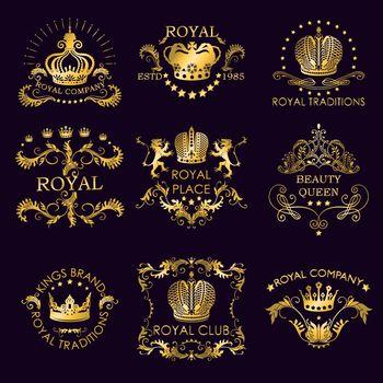 Royal Traditions Golden Logos