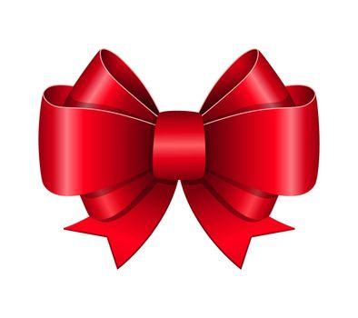 Red bow symbol