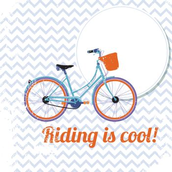 Riding is cool