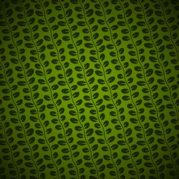 Diagonal Floral green background