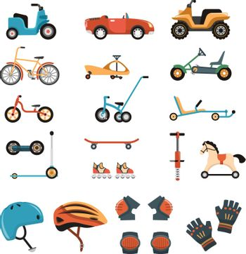 Ride-On Toys Elements Collection