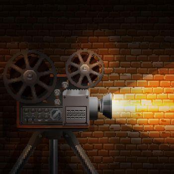 Retro Film Background