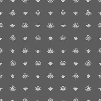 Seamless vintage royal pattern