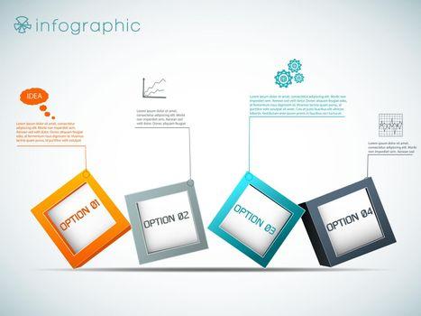 Row Of Options Infographics