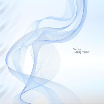 ribbon abstract background