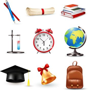 School Accessories Set