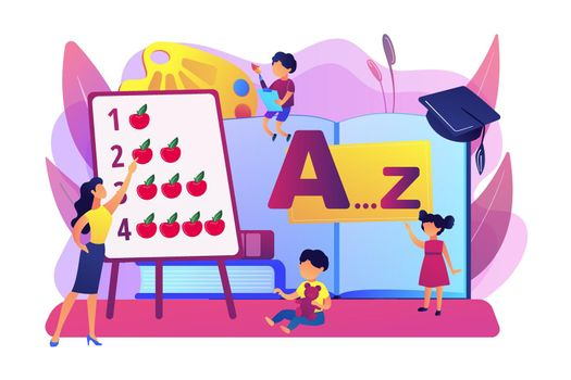 Early education concept vector illustration