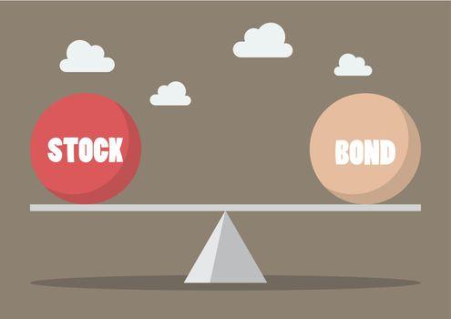 Balancing between stock and bond
