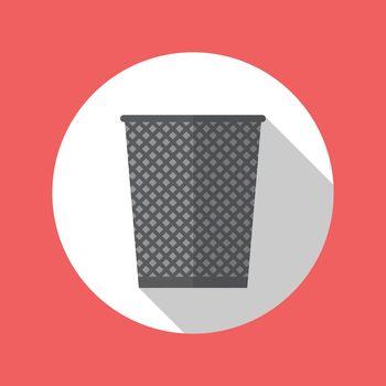 Office trash recycle bin