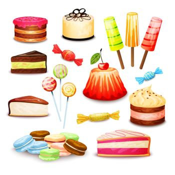 Sweet Food Set