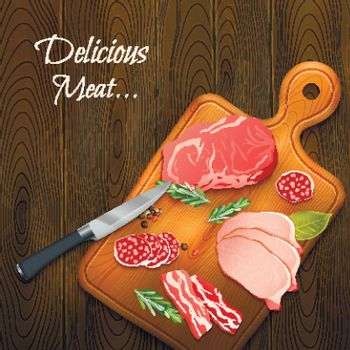 Delicious Meat Background