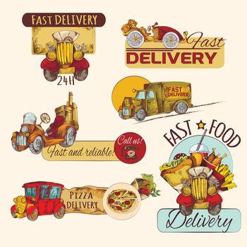 Delivery Emblems Set