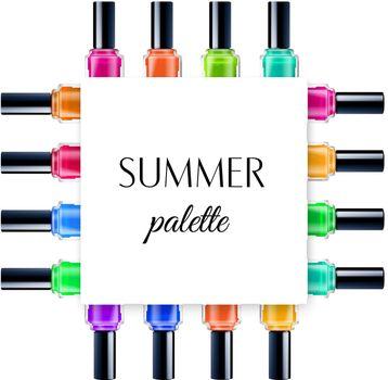Summer Palette Frame
