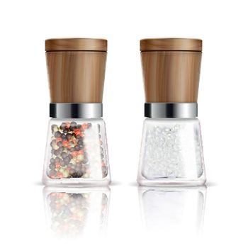Salt And Pepper Mill Composition