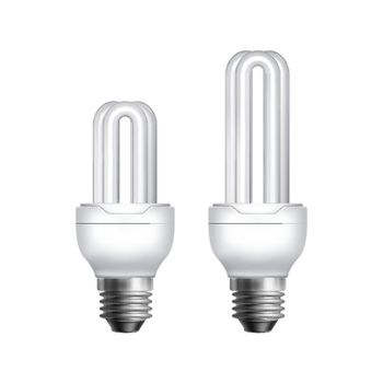 Two fluorescent lamps