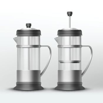 Vector french press
