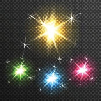 Starburst Light Effect Transparent Image
