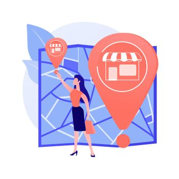Small business expansion vector concept metaphor